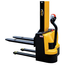 Furniture Lifter Home Depot by Vestil 3 000 Lb Capacity 43 In Narrow Mast Stacker With Power