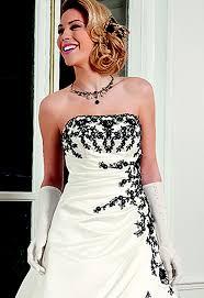 robe de mari e noir et blanc robe de mariée noir et blanc julie bas