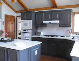 Refinishing Kitchen Cabinet Excellent Refinished Kitchen Cabinets Eizw Info
