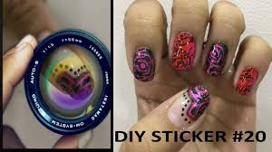 diy nail art stickers 20 i make your own diy nail art stickers