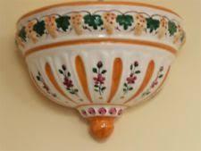ceramic wall planters ebay