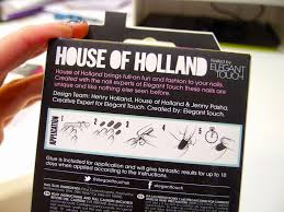 house of holland nails 10 blank canvases