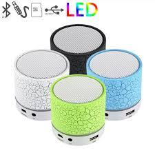 led light bluetooth speaker mini led light bluetooth speaker with usb tf bluetoth fm radio
