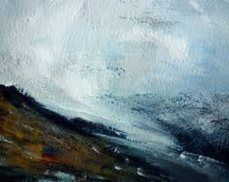 Abstract Landscape Painting by Abstract Landscape Etsy