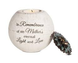 condolence gift sympathy gift for memorial candle