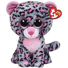 ty beanie boo plush patches leopard 15cm amazon uk toys