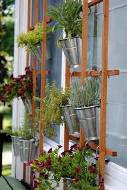 diy vertical herb garden diy vertical herb garden trellis wall hometalk