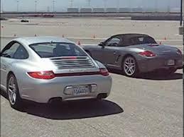porsche boxster vs 911 porsche boxster s vs porsche 4s laps in california