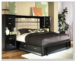 Bed Frames With Storage Drawers And Headboard Headboard With Storage Magnificent Bed With Headboard Storage Best