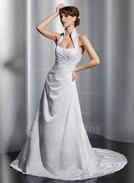 robe de mari e tours forme princesse dos nu traîne moyenne satiné robe de mariée avec