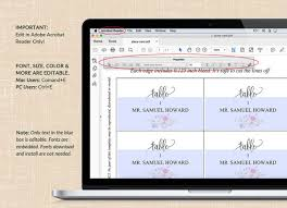 wedding place cards templates wedding place card printable