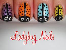 sunflower ladybug summer nail art design tutorial sunflower
