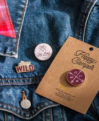 happy camper pin get lost tableware and home decor seattle wa