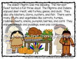 four seasons to thanksgiving a pilgrim story literacy unit tpt