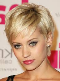 short hairstyles with highlights for older women cute short