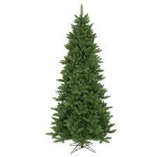 slim christmas trees the aisle camdon fir 8 5 green artificial slim christmas