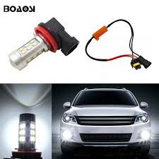 audi a6 fog light bulb boaosi 1x h11 h8 car led lights bulb auto fog light ls no error
