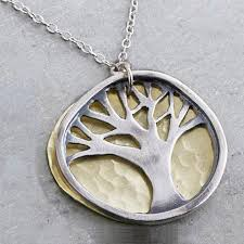 metal pendant necklace images Tree of life jewelry artisan silver gold gemstones sheva jewelry jpeg