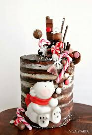 40 best christmas cakes images on pinterest cakes