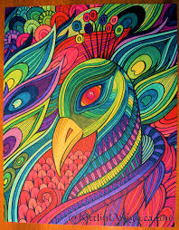 colouring craze my completed coloring pages and more