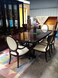 thomasville furniture dining room thomasville furniture nocturne double pedestal dining table 43221