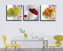 cadre cuisine 2017 3 panneau sans cadre fruits cuisine restaurant décoré grand