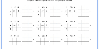 grid method multiplication classroom secrets