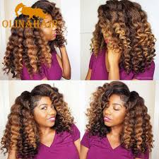 kanekalon crochet hairstyles freetress ombre wand curl janet collection synthetic kanekalon