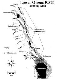 Los Angeles Aqueduct Map by Mou