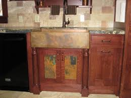 Copper Backsplash Kitchen Hammered Copper Backsplash Doors Custom Hardware And Hammered