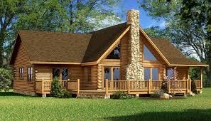 Log Cabin Plans by Log Cabin House Plans Rockbridge Log Home Cabin Plans Back