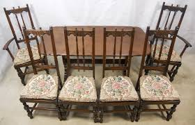 SOLD Ercol Old Colonial Dark Elm Dining Room Suite - Colonial dining room furniture