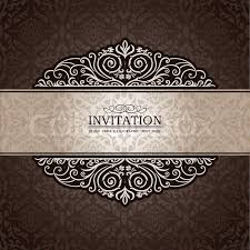 abstract background with exclusive antique luxury vintage brown