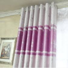Silver Purple Curtains Purple And Silver Ready Made Brief Blackout Curtains