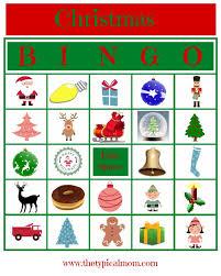 printable christmas bingo cards pictures christmas bingo printable the typical mom