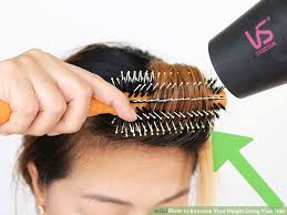 how to add height to hair 4 ways to increase your height using your hair wikihow