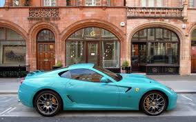 blue ferrari wallpaper ferrari aqua blue widescreen wallpaper wide wallpapers net