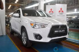 mitsubishi asx 2014 launch 2014 mitsubishi asx ckd starting from rm114 743 50 otr