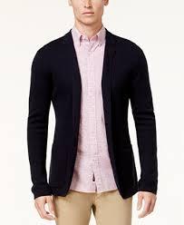 blazer sweater michael kors marled knit blazer sweaters macy s