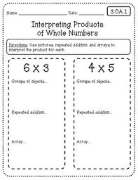 common core math worksheets for all 3rd grade standards
