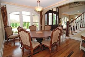 Tommy Bahama Dining Room Furniture Traditional Dining Room With High Ceiling U0026 Hardwood Floors In
