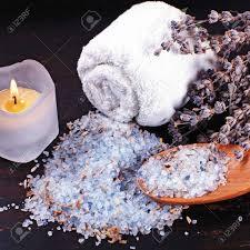 composition du sel de cuisine spa composition de sel de lavande naturelle de bain des bougies et