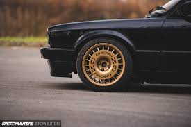 bmw e30 stanced driving thrills an e30 track animal speedhunters