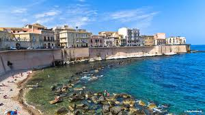 Map Of Italy And Sicily by Pictures Of Syracuse Siracusa Photo Gallery And Movies Of