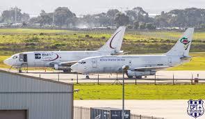 bid air bidair b737 244cf zs sif africa charter airlines b737 244cf zs