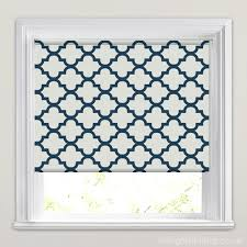 Roman Blinds Pattern Calat Navy Roller Blind Roman Blinds Spare Room And Soft