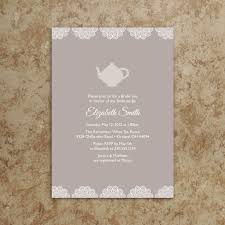 bridal tea party invitation wording bridal shower tea party invitations wedding shower tea party