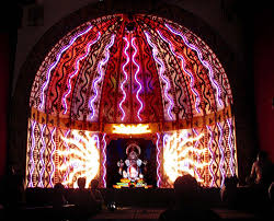 ganpati decoration stage decoration pinterest decoration