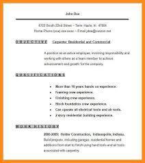 Verizon Resume 8 Sample Resume For Carpenter Azzurra Castle Grenada