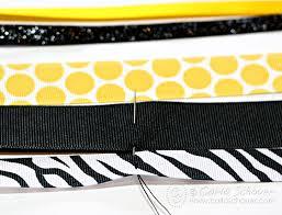softball ribbon diy softball hair bows carla schauer designs